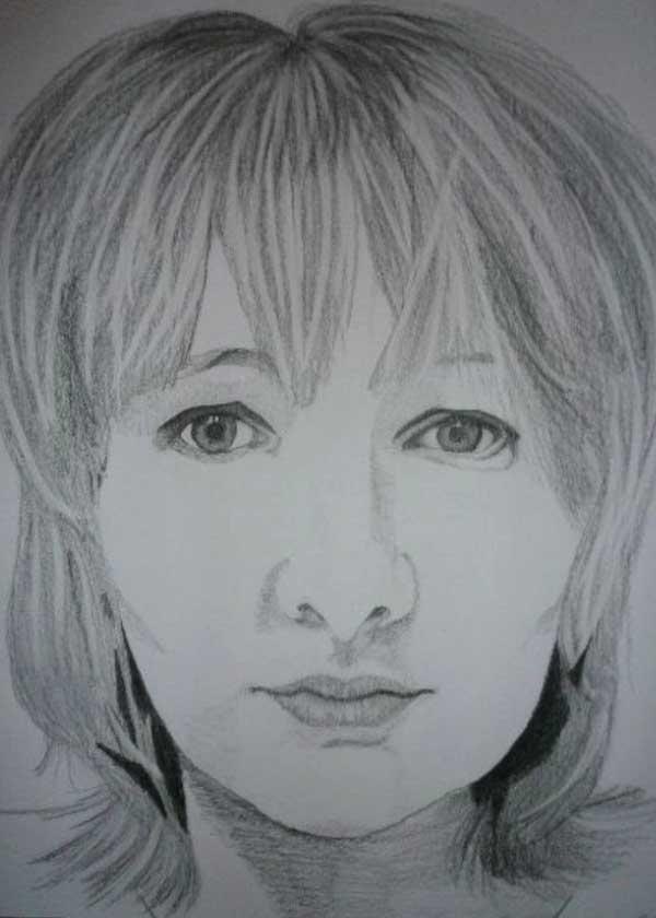 Kresba dívky