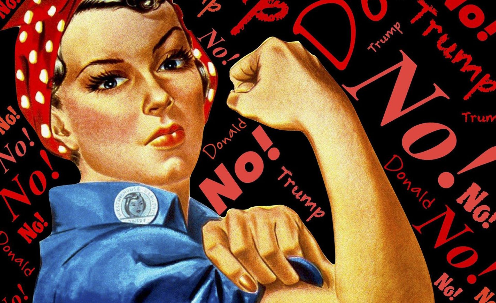 odvážná žena