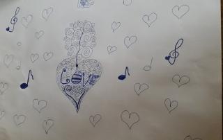 hudební kresba
