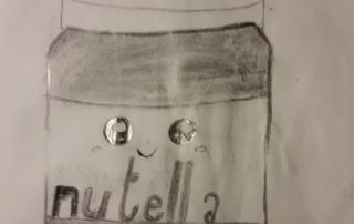 kresba Nutella