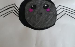 kresba pavouk